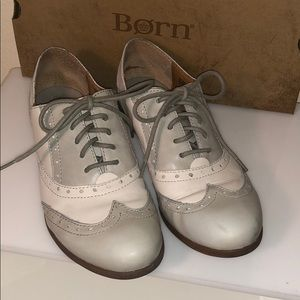 Born leather oxfords